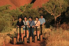 Ayers Rock Uluru Sunrise and Segway