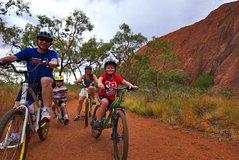From Yulara: Discover Uluru Half Day Bike Tour